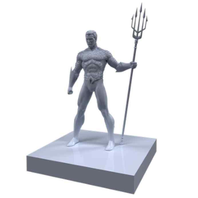 Justice League: Dawn of Heroes Aquaman TABLERUM
