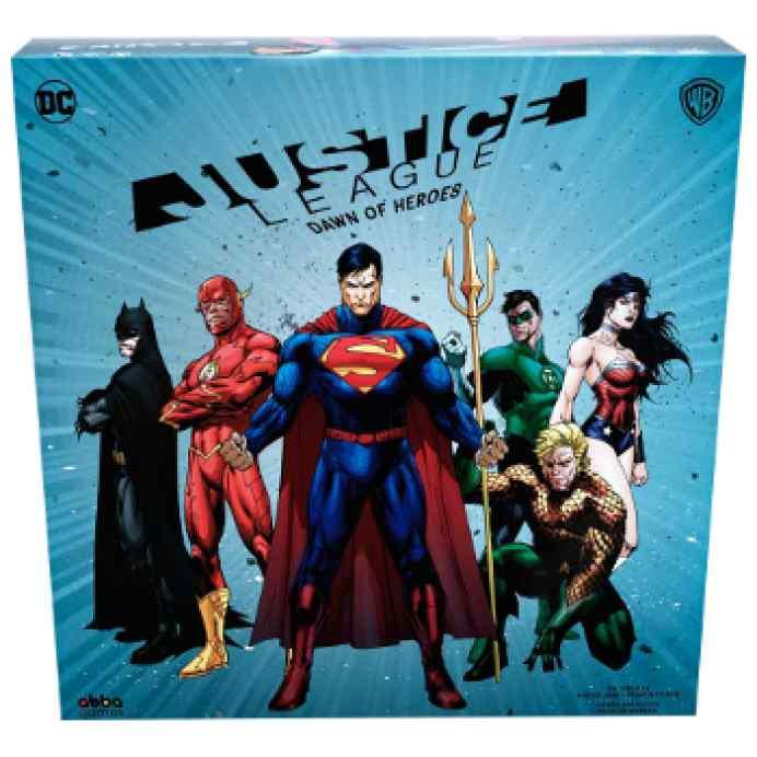 Justice League: Dawn of Heroes TABLERUM