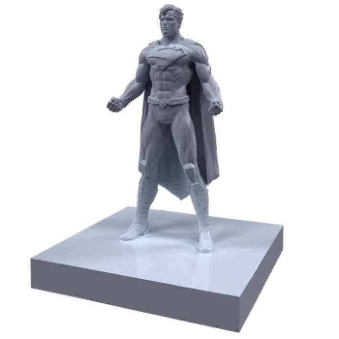 Justice League: Dawn of Heroes Superman TABLERUM