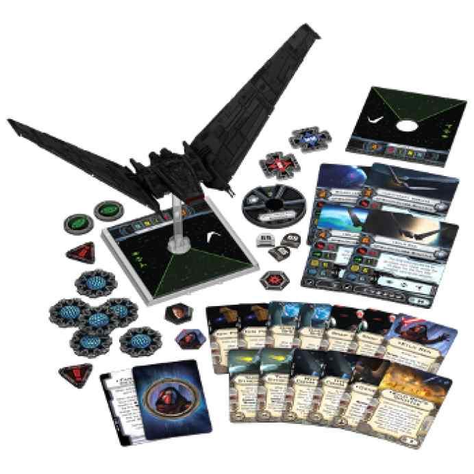 X Wing: Lanzadera Clase Ípsilon abierto