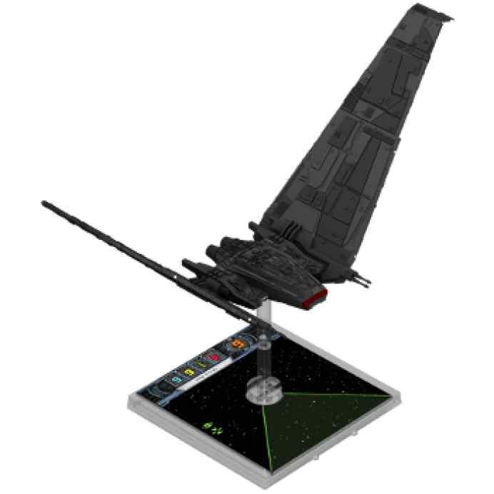 X Wing: Lanzadera Clase Ípsilon miniatura