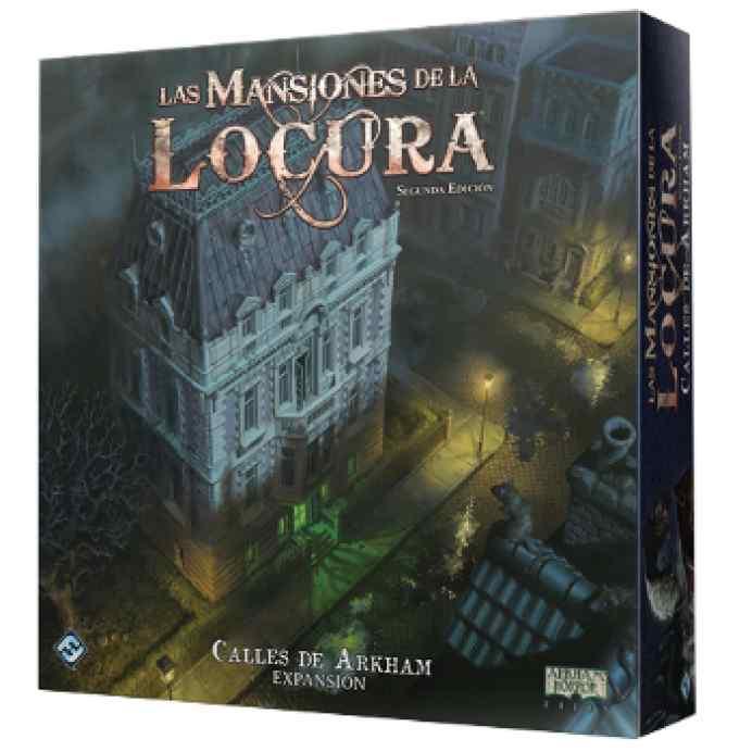 Las Mansiones de la Locura (2ºEd): Calles de Arkham TABLERUM
