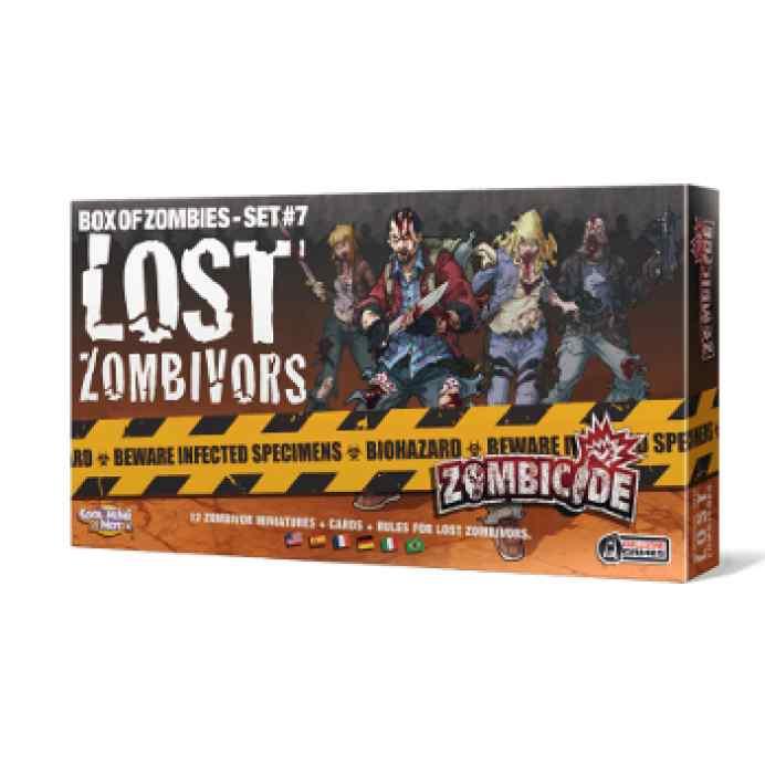comprar Zombicide T3: Lost Zombivors