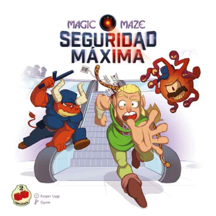 Magic Maze: Seguridad Máxima TABLERUM