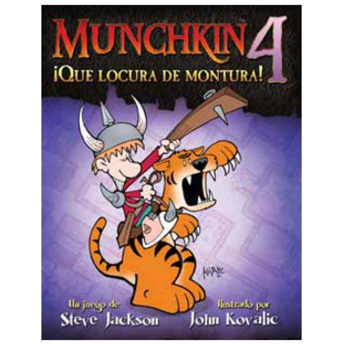 comprar Munchkin 4: ¡Qué Locura de Montura!