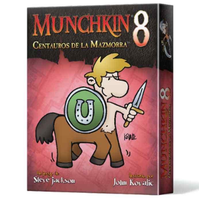 comprar Munchkin 8: Centauros de la Mazmorra