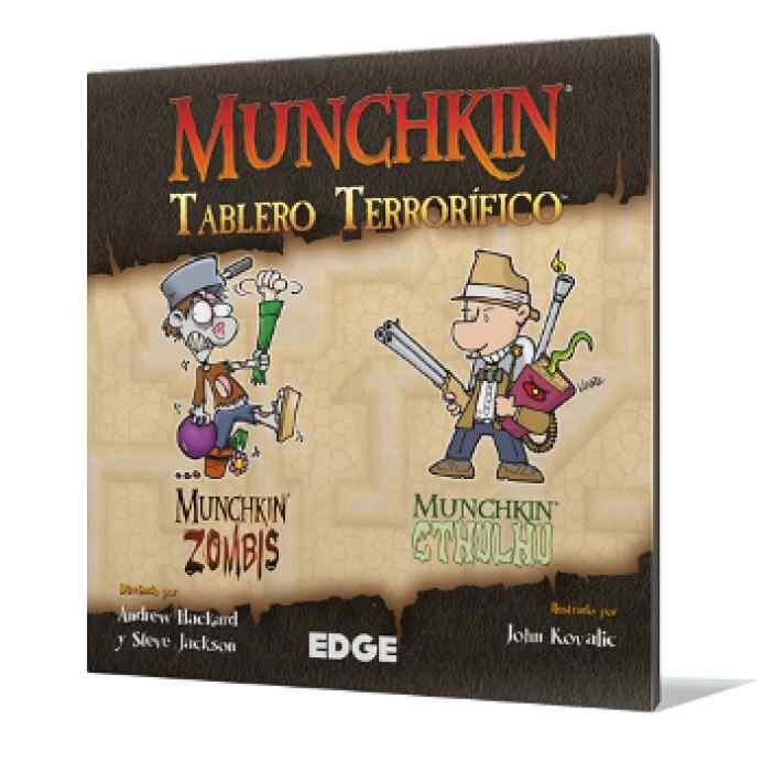Munchkin Tablero Terrorífico