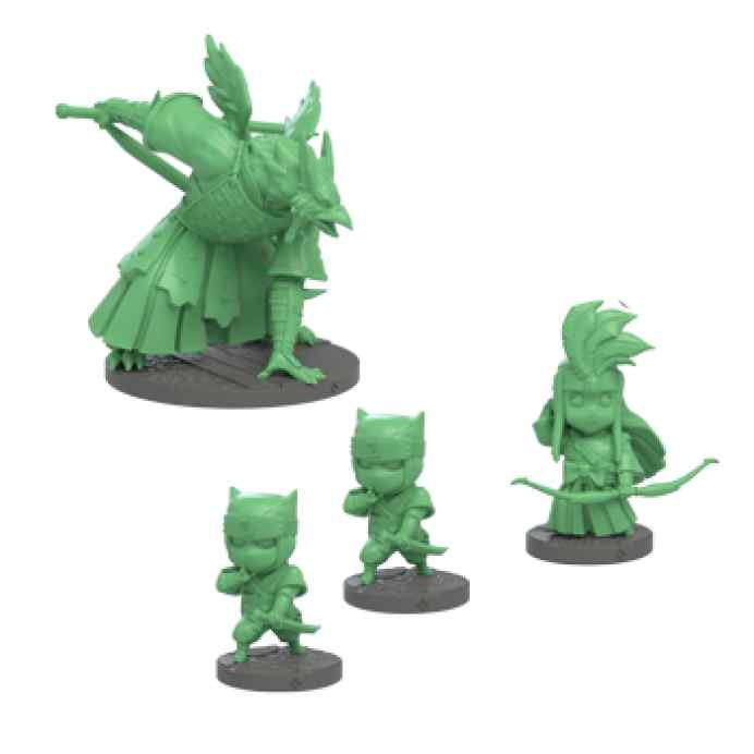 miniaturas Ninja All Stars: Clan Tanchyo