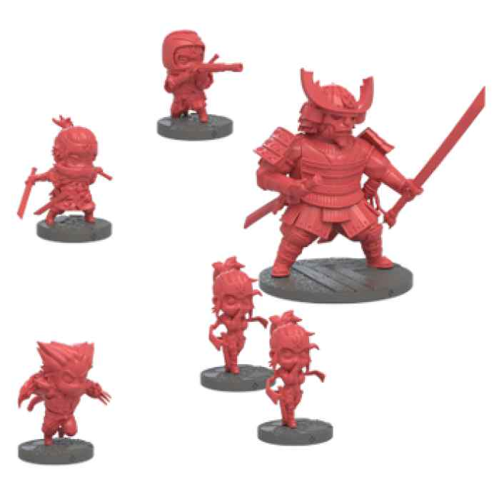 Ninja All Stars: Clan Tora miniaturas
