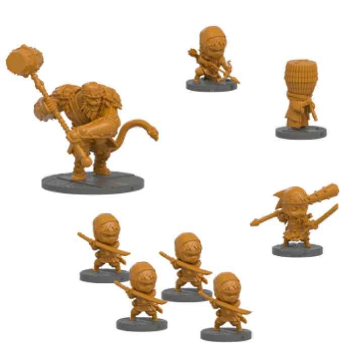 Ninja All Stars: Clan Yamazaru miniaturas