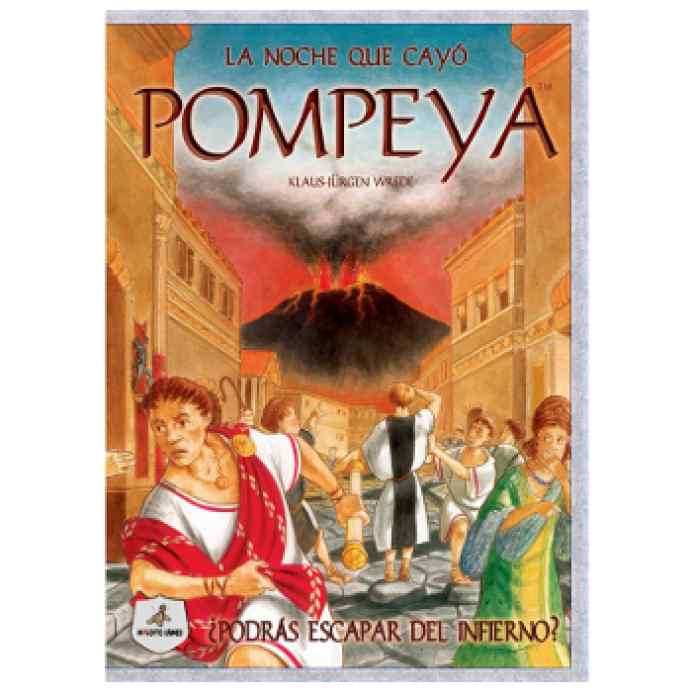 La noche que cayó Pompeya juego de mesa