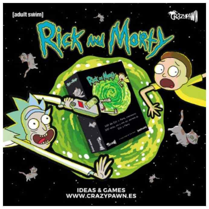 Rick & Morty: 100 Días TABLERUM