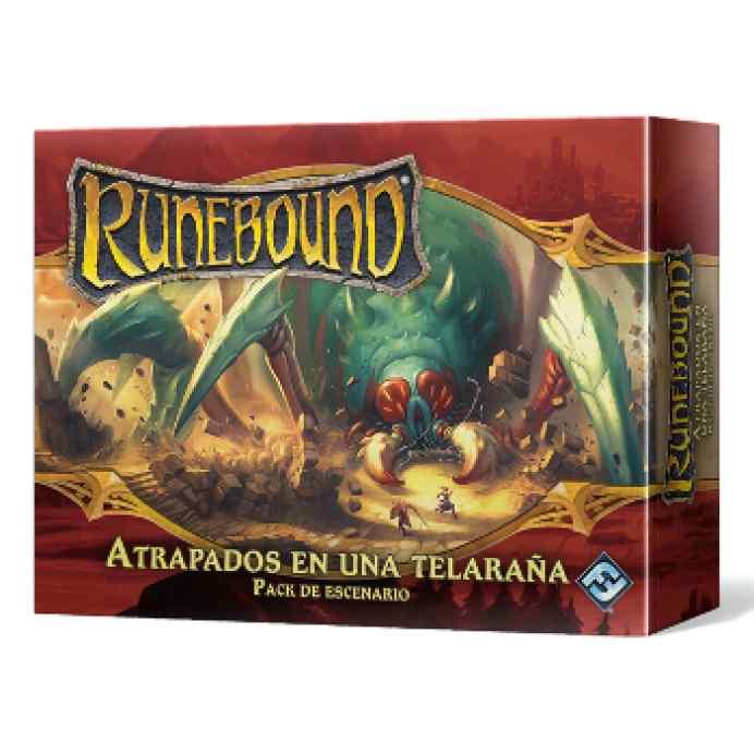 Runebound (3ªEd): Atrapados en una Telaraña
