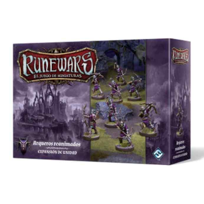 Runewars: El juego de miniaturas Waiqar el Inmortal: Arqueros Reanimados