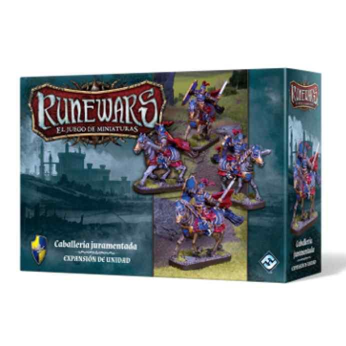 Runewars: El juego de miniaturas Los Señores de Daqan: Caballería Juramentada