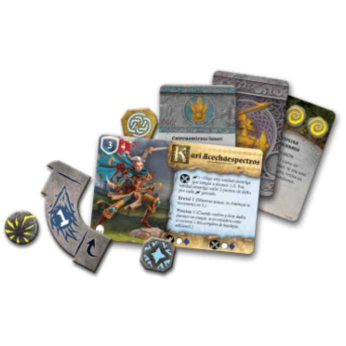 Cartas Runewars: El Juego de Miniaturas