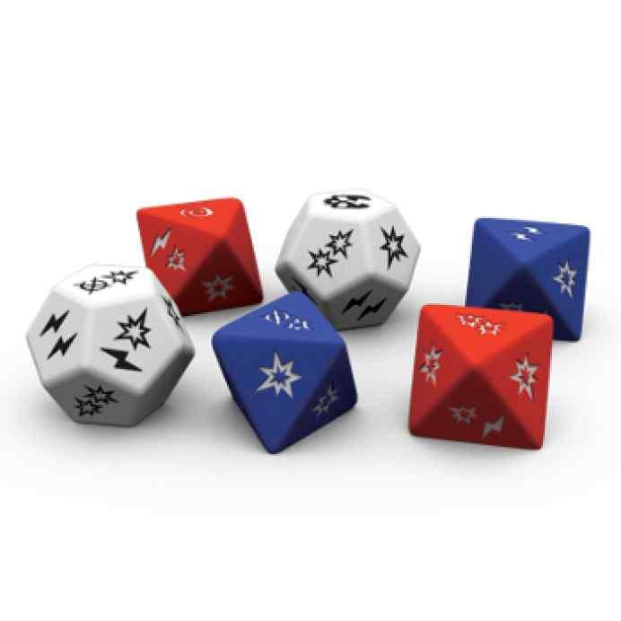 Dados Runewars: El Juego de Miniaturas