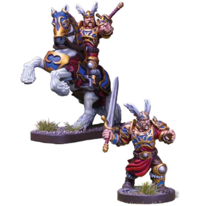 Runewars: El juego de miniaturas Los Señores de Daqan: Lord Hawthorne