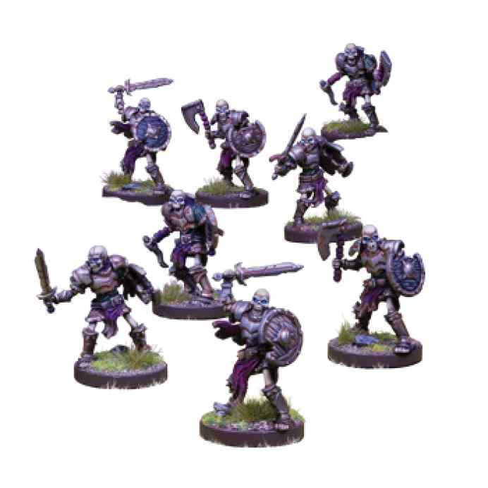 Runewars: El juego de miniaturas Waiqar el Inmortal: Reanimados