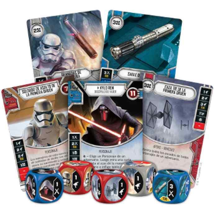 juego de mesa Star Wars: Destiny: Caja de Inicio Kylo Ren