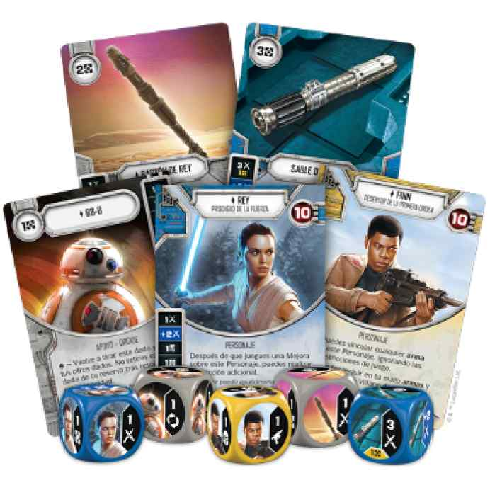 juego de mesa Star Wars: Destiny: Caja de Inicio Rey