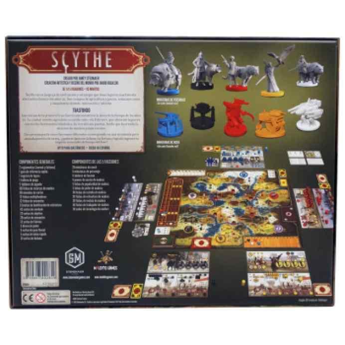 juego de mesa Scythe + Promos + Monedas