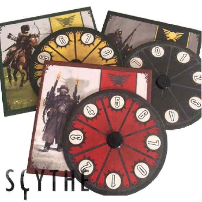 Scythe: Kickstarter Promo 5 - 3 Diales de poder promocionales TABLERUM