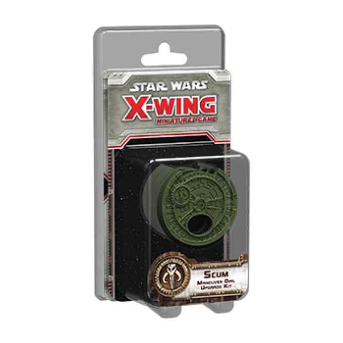X Wing: Kit de mejora de selector de maniobra para Escoria