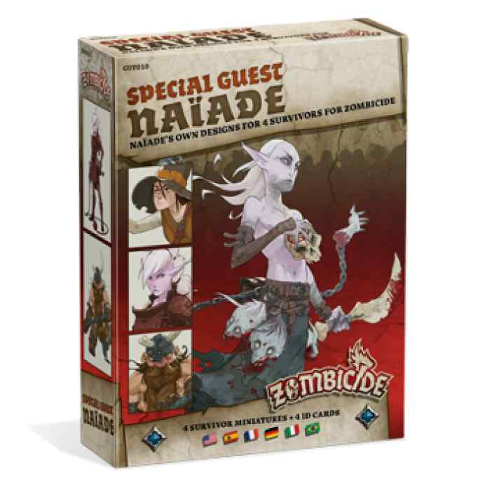juego Zombicide Black Plague: Special Guest: Naiade expansion