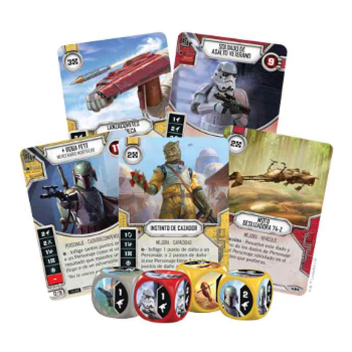 Star Wars: Destiny: Caja de Inicio: Boba Fett TABLERUM