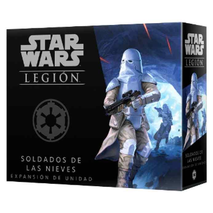 Star Wars: Legión Unidades Imperiales: Soldados de las Nieves TABLERUM