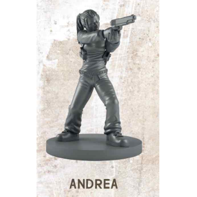 The Walking Dead All Out War: Andrea Miniatura