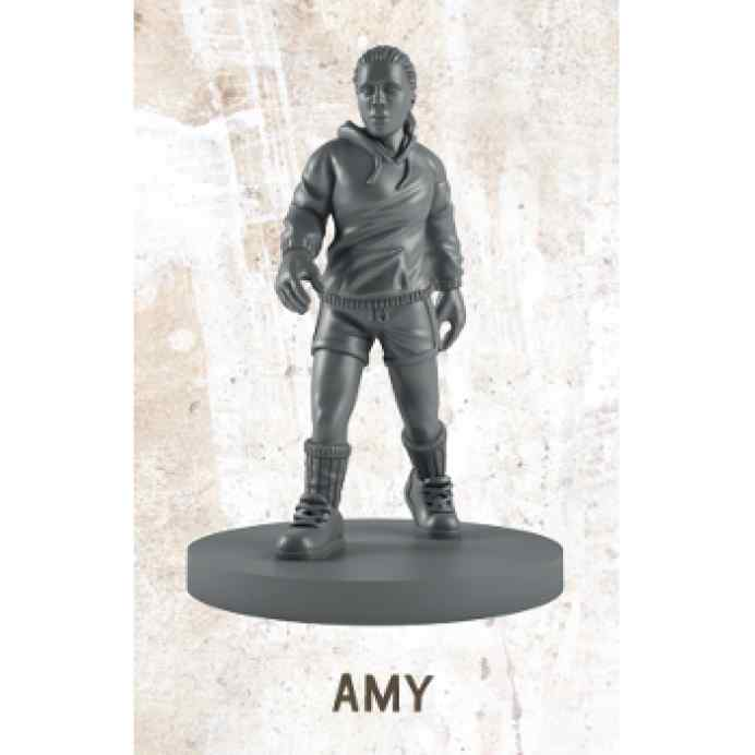 The Walking Dead All Out War: Amy Miniatura