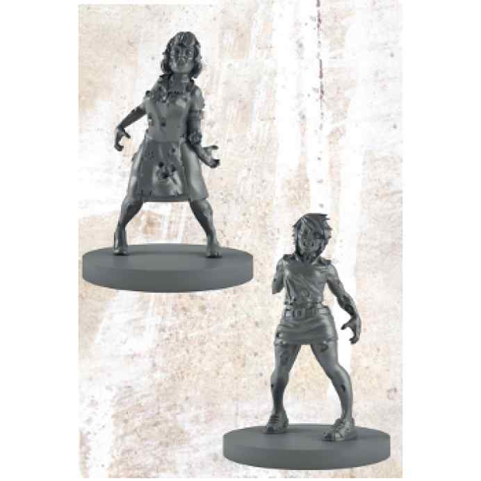 The Walking Dead All Out War: Booster Caminante Miniatura