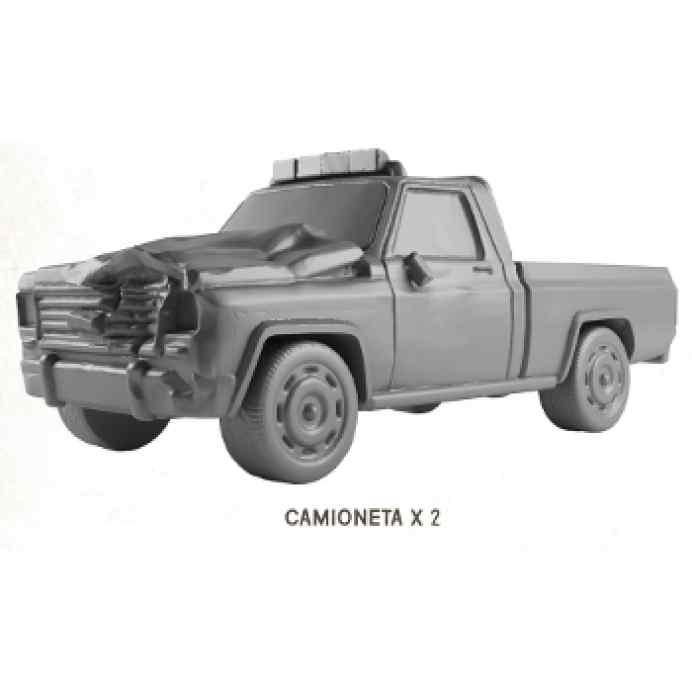 The Walking Dead All Out War: Camioneta