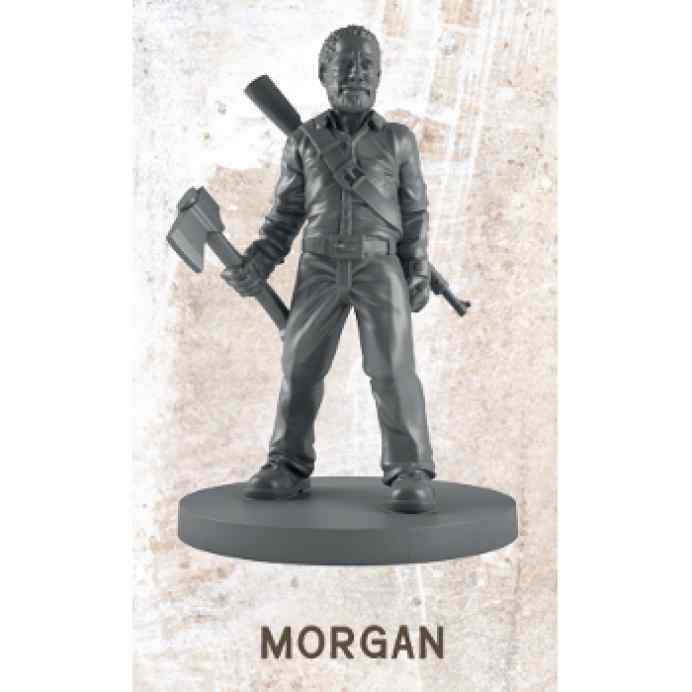 The Walking Dead All Out War: Morgan Miniatura