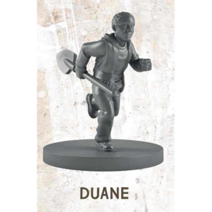 The Walking Dead All Out War: Duane Miniatura