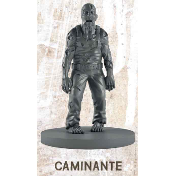 The Walking Dead All Out War: Rick a Caballo Caminante Miniatura