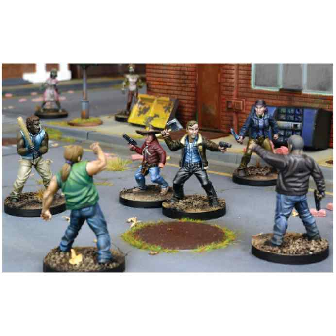 The Walking Dead: All Out War Miniaturas