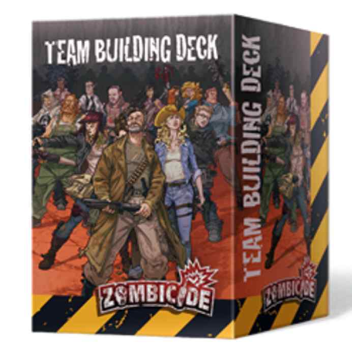 comprar Zombicide T3: Team Building Deck