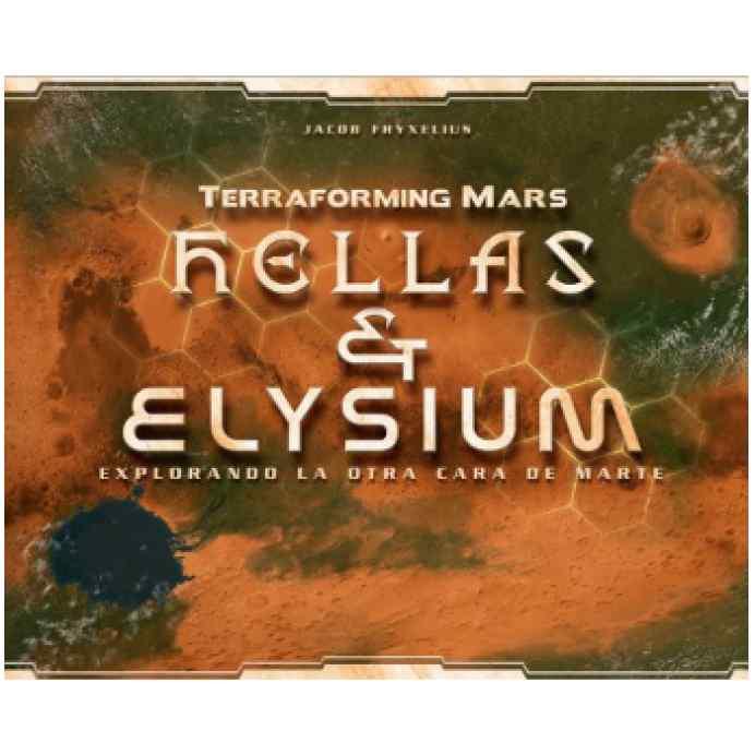 Terraforming Mars: Hellas y Elysium – Explorando la otra cara de Marte TABLERUM