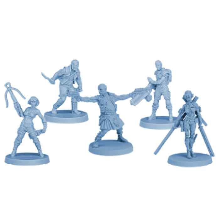 The Others: Equipo Delta miniaturas