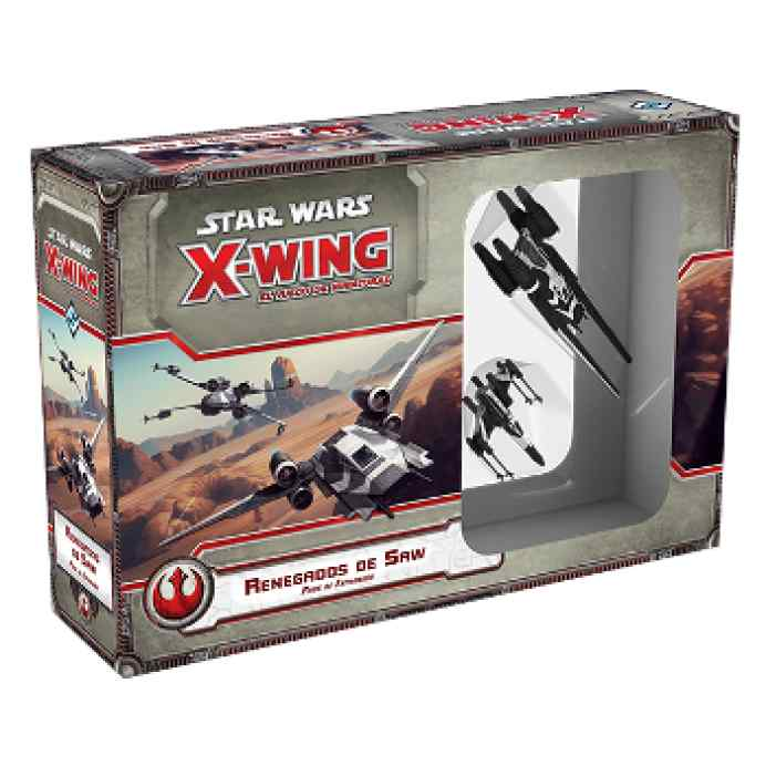 X Wing: Renegados de Saw TABLERUM