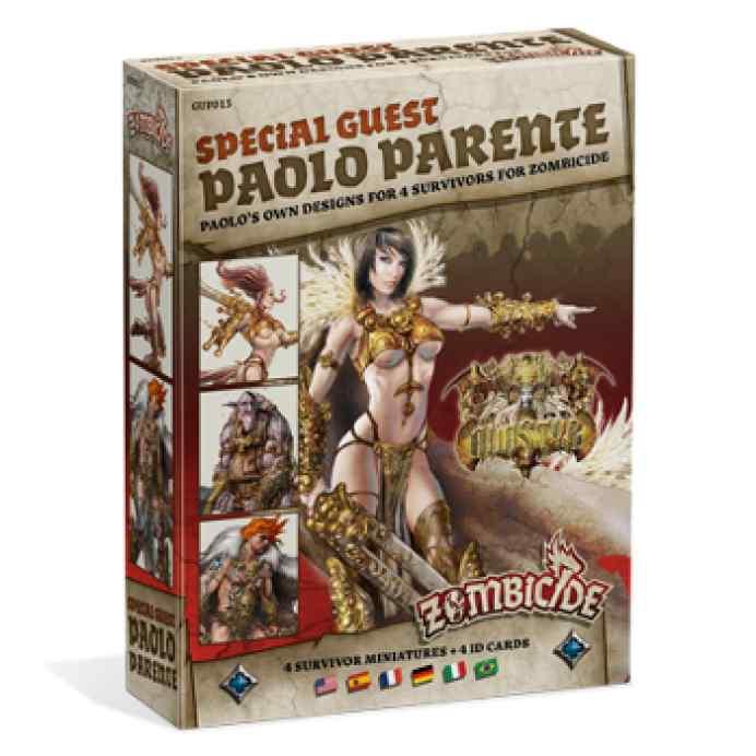 expansión Zombicide Black Plague: Special guest: Paolo Parente