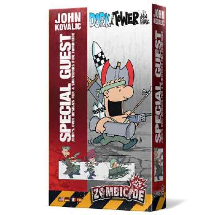 comprar Zombicide T3: Special Guest John Kovalic