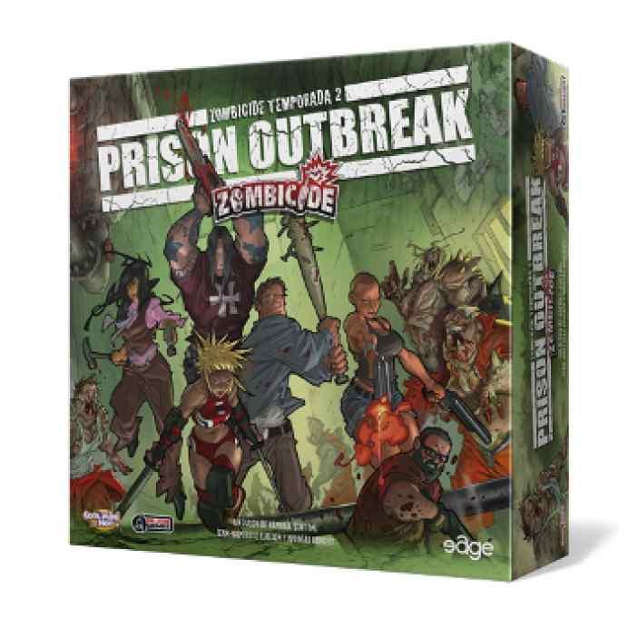 comprar Zombicide: T2 Prison Outbreak
