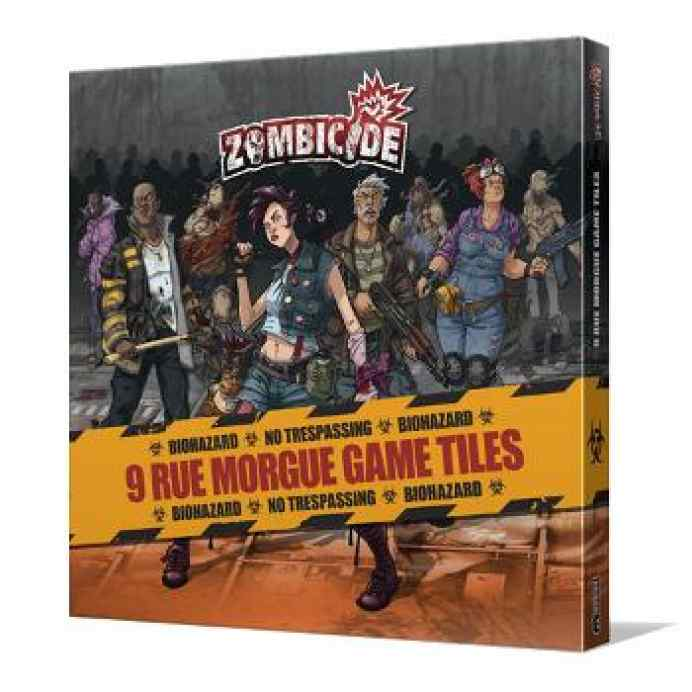 comprar Zombicide T3: Rue Morgue Tile Set