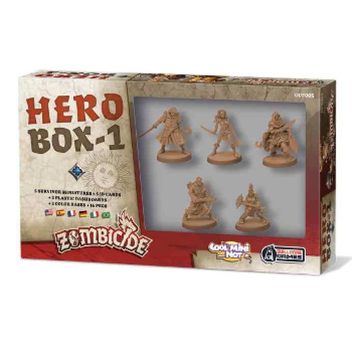 comprar Zombicide Black Plague Hero Box 1