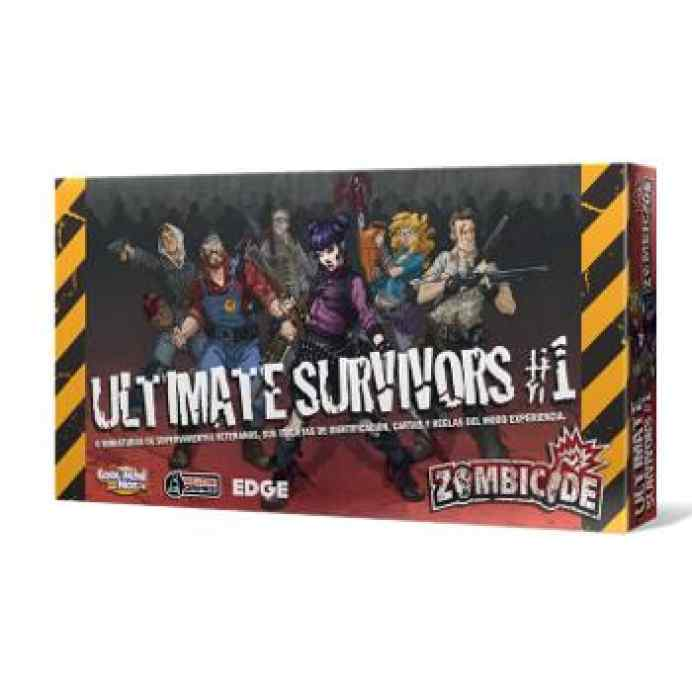 comprar Zombicide T3: Ultimate Survivors and Experience Cards1