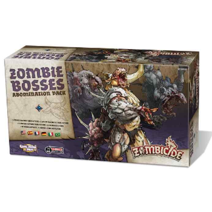 Zombicide Black Plague: Zombie Bosses-Abomination Pack TABLERUM